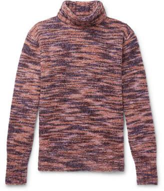 Sies Marjan Dylan Wool And Silk-Blend Rollneck Sweater