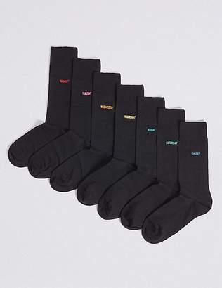 Marks and Spencer 7 Pack Days of the Week FreshfeetTM Socks