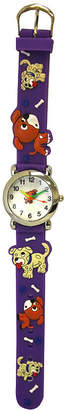 OLIVIA PRATT Olivia Pratt Kids Purple Dog Strap Watch-17195