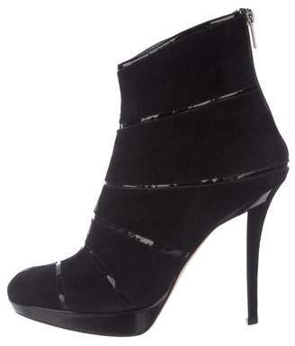 Christian Dior Suede Ankle Boots