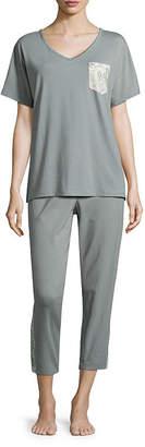 Liz Claiborne Printed Pajama Set
