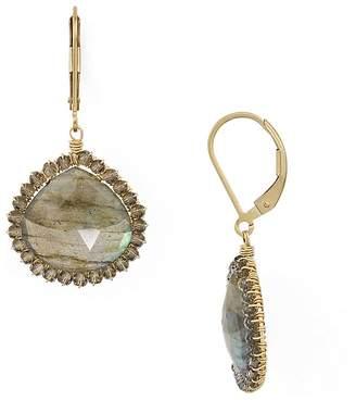 Dana Kellin Faceted Stone Drop Earrings