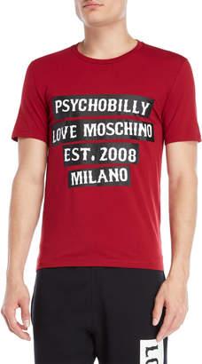 Love Moschino Psycho Billy Tee