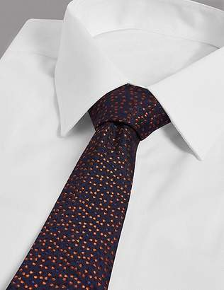 Marks and Spencer Pure Silk Micro Star Tie