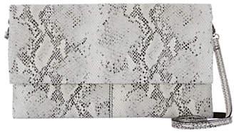 Mint Velvet Lily Leather Clutch