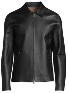 Zerega Wells Leather Jacket