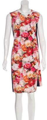 Magaschoni Floral Knee-Length Dress w/ Tags