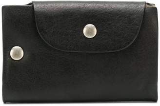 Ann Demeulemeester snap button wallet