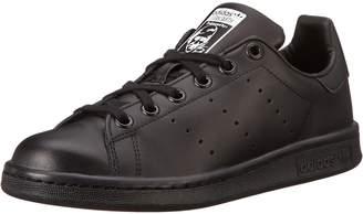 adidas Kids Stan Smith J Originals Black/Black/Ftwwht Casual Shoe 6.5 Kids US