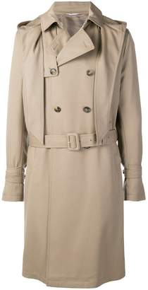 Valentino hooded trench coat