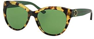 Tory Burch TY7084 Sunglasses 149571-55 - Tokyo Tort/bottle Frame, Solid