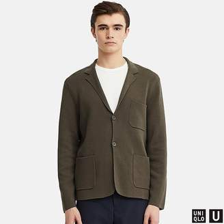 Uniqlo Men's U Milano Ribbed Jacket