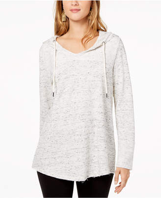 Style&Co. Style & Co Shirttail-Hem Hoodie, Created for Macy's