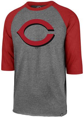 '47 Men Cincinnati Reds Throwback Club Raglan T-Shirt