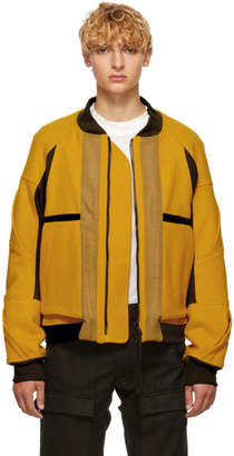 Abasi Rosborough Yellow Limited Edition Rover Flight Arc Jacket