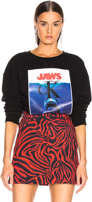 Calvin Klein Jaws Sweater in Black | FWRD