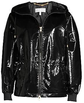 Escada Sport Women's MyPatent Hooded Patent Jacket