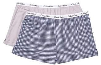 Calvin Klein Carousel Sleep Boy Short - Pack of 2