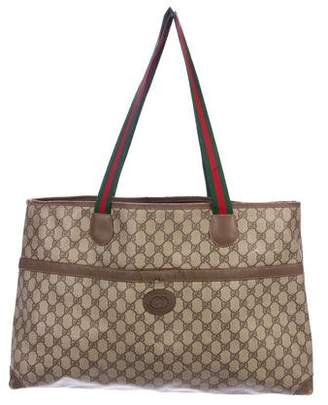 6010bfb1cdc Gucci Vintage Web Handbags - ShopStyle
