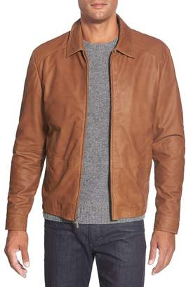 Missani Le Collezioni Lambskin Leather Jacket
