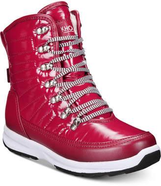 Khombu Women's Elsa Waterproof Winter Boots Women's Shoes