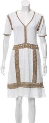 Philosophy di Alberta Ferretti Embroidered Mini Dress
