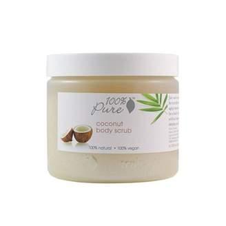 100% Pure Organic Coconut Body Scrub - 16 oz