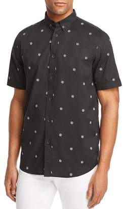 Rag & Bone Smith Patterned Button-Down Shirt