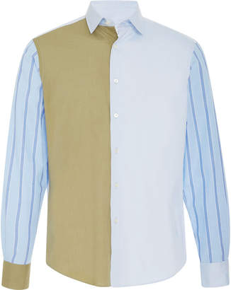 J.W.Anderson Panelled Oxford Shirt