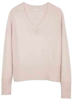 Cuyana Merino Cashmere V-Neck Sweater