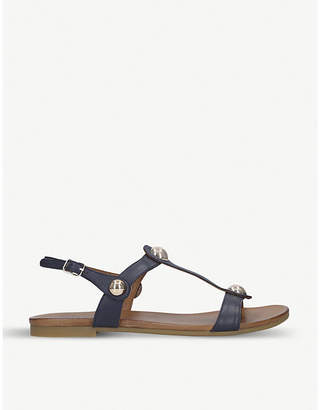 Selfridges Carvela Comfort Saz leather sandals