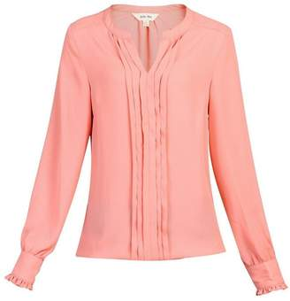 e91774cfb370c6 Dorothy Perkins Womens * Jolie Moi Coral Pink Pleated Blouse