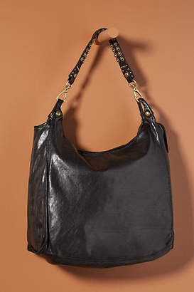 552ae16871f Slouchy Black Leather Bag - ShopStyle