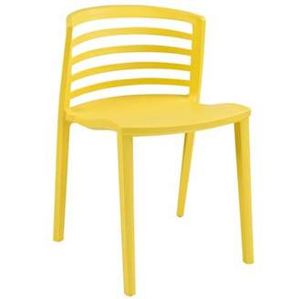 Modway Curvy Molded Dining Side Chair, Multiple Colors