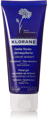 Klorane Floral Gel Eye Make-up Remover With Soothing Cornflower, 100ml - Colorless