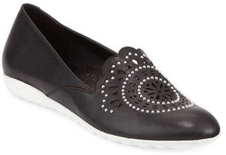 Sesto Meucci Ben Embellished Leather Comfort Loafers
