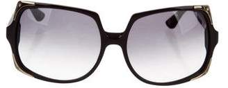 Michael Kors Oversize Tinted Sunglasses