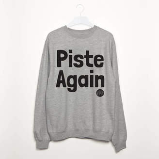 Batch1 Piste Again Women's Apres Ski Snowboard Sweatshirt
