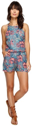 Roxy - Hooked On A Feeling Romper Women's Jumpsuit & Rompers One Piece $49.50 thestylecure.com