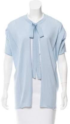 Dolce & Gabbana Short Sleeve Knit Cardigan blue Short Sleeve Knit Cardigan