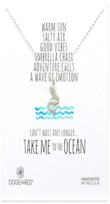 Dogeared Mermaid Ocean Necklace