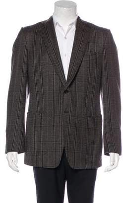 Tom Ford Wool & Silk Plaid Blazer
