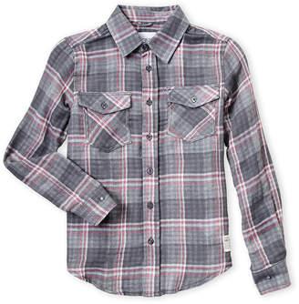Joe's Jeans Boys 8-20) Plaid Print Collar Shirt