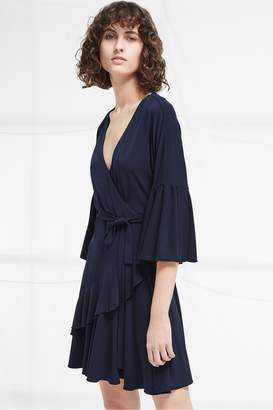 French Connection Ellette Jersey Wrap Dress
