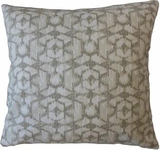 Union Rustic Ruffin Ikat Cotton Pillow Union Rustic