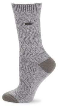 Sorel Chevron Crew Socks