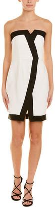 Rachel Zoe Two-Tone Sheath Dress