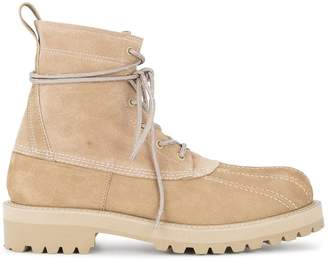 Undercover military boots