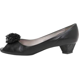 Viktor & Rolf Black Leather Ballet flats