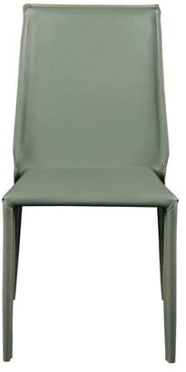 Euro Style Alder Side Chair, Green